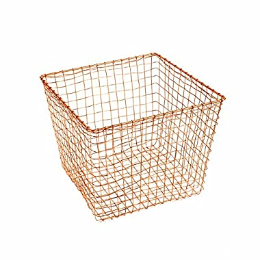 Design Ideas Cabo Storage Nest-Copper-Large