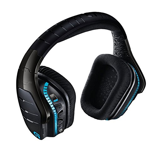 Logitech G933 Artemis Spectrum - Wireless RGB 7.1 Dolby and DTS:X HeadphoneX Surround Sound Gaming Headset - PC, PS4, Xbox One, Switch, and Mobile Compatible - Advanced Audio Drivers by Logitech (Image #3)