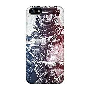 For Iphone Cases, High Quality Battlefield 3 Soldier For Iphone 5/5s Covers Cases