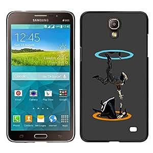 EJOY---Cubierta de la caja de protección para la piel dura ** Samsung Galaxy Mega 2 ** --Portal gota