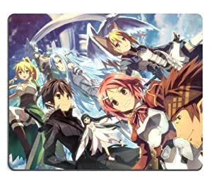 Sword Art Online SAO Kirito & Asuna Group 01 Anime Game Gaming Mouse Pad