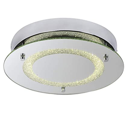 newest 1915f fa346 AUDIAN Flush Mount Ceiling Light Ceiling Lamp Dimmable LED 11Inch 1320lm  Daylight White Color 12W (100W Incandescent Bulb Equivalent) Ceiling  Lighting ...