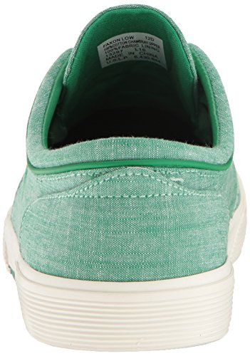 Polo Ralph Lauren Mens Faxon Bassa Sneaker Sbiadito Verde