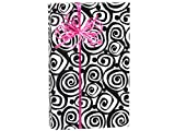 Pack Of 1, Bohemian Swirls 24'' X 417' Roll Classic Designs Gift Wrap For 175 -200 Gifts Made In USA