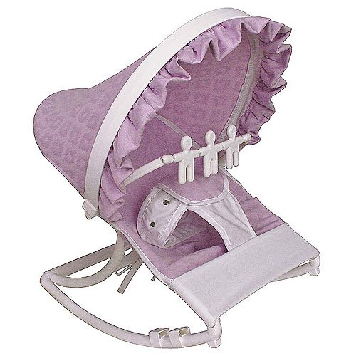 Hoohobbers Baby Rocking Infant Seat, Orchid