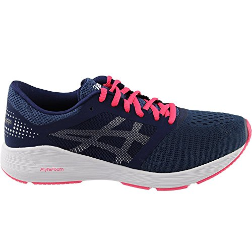 Silver Rouge Asics Roadhawk Insignia FF Shoes Red Womens Blue wq6gY1