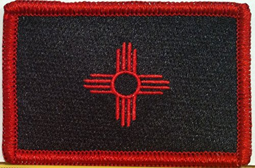 NEW MEXICO STATE Flag Embroidered VELCRO Patch Military Tact