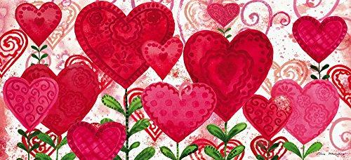 Valentine Day Doormat Heart Decorative Indoor Rug Floor