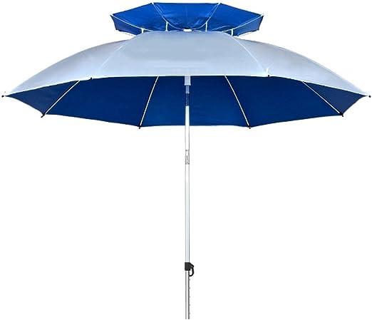 ZHUSAN Paraguas De Pesca Doble Capa Oxford Spinning Protección ...