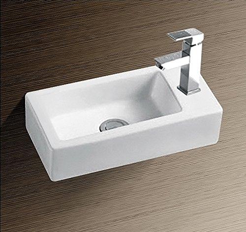 Burgtal 17800 Design Keramik Wandmontage Waschbecken Handwaschbecken BKW-24