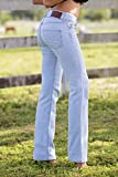 Bullet Blues Sunday Ciel Euro Size 29 US Size 8 - 10 Women's Flare Jeans Made in the USA