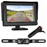 Best Backup Camera For Car SUVs - ZSMJ Backup Camera and Monitor Kit For Car/Suv/Pickup/Truck/Van/RV/Trailer Review
