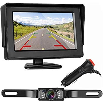 amazon com zsmj backup camera and monitor kit for car suv pickup rh amazon com