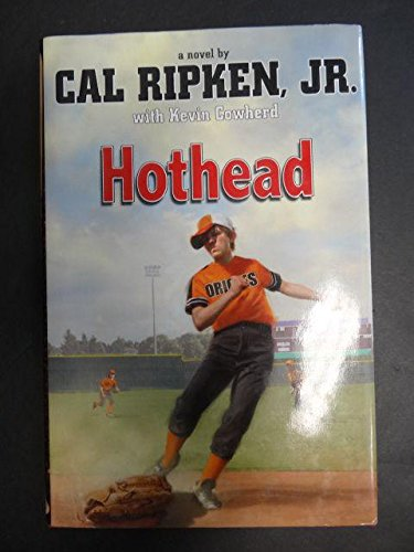 Cal ripken jr signed book hothead 1st edition psa//dna xmas.