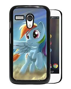 Newest Motorola Moto G Case ,My Little Pony Rainbow Dash Black Motorola Moto G Cover Case Fashionable And Popular Designed Case Good Quality Phone Case