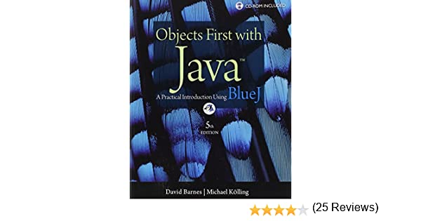 Objects first with java a practical introduction using bluej 5th objects first with java a practical introduction using bluej 5th edition david j barnes michael kolling 9780132492669 amazon books fandeluxe Image collections