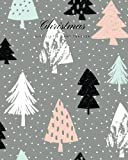Christmas Gift List & Card Tracker: Grey Holiday Shopping List | Christmas Card Recorder & Address Book | Organizer, Notebook, Planner | Keep Track Of ... List | Large (Seasonal Holidays) (Volume 11)