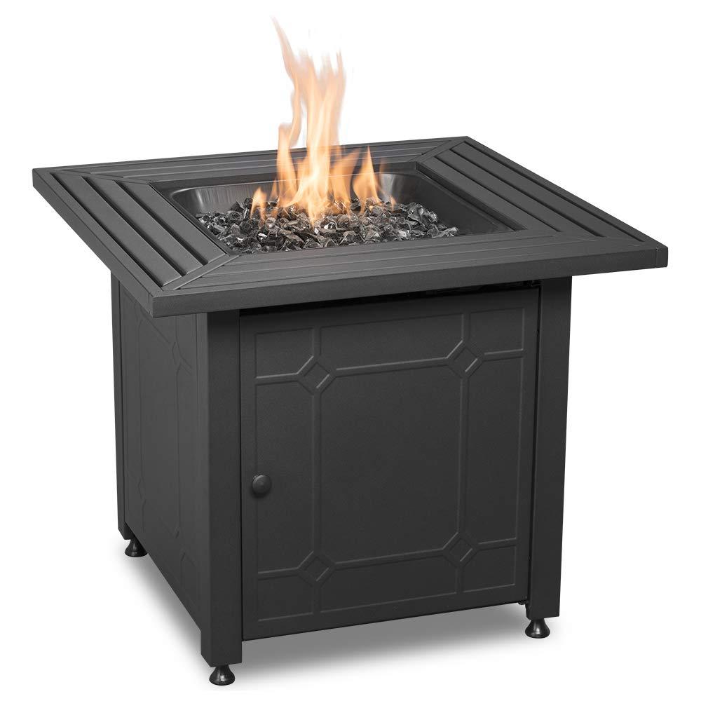 Endless Summer GAD15257SP Lp Gas Outdoor, Black Fire Table