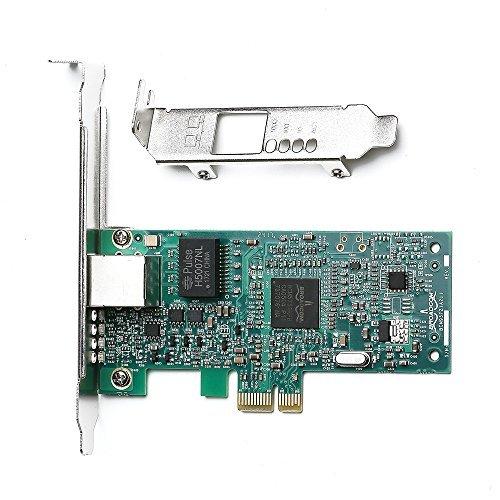 TOTVIN TOTOVIN Broadcom NetXtreme 10/100/1000Mbps Gigabit Desktop PCI-E Network Card - BCM5751 NIC price tips cheap