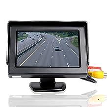 CSX43D-A1 4.3 Inch Car Monitor Desktop LCD Digital Display Black
