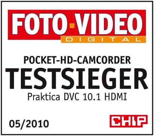 Praktica Dvc 10 1 Full Hd Camcorder 3 Zoll Inkl Kamera