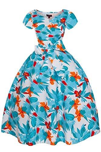 Damen Looking Einheitsgröße Glam Weiß Kleid gq5qZAw