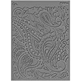 "Lisa Pavelka Individual Texture Stamp 4.25""X5.5"" 1/Pkg-Paisley/ Sold as a pack of 1"