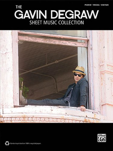 Vocal Sheet Jazz Music (The Gavin Degraw Sheet Music Collection Piano/Vocal/Guitar)
