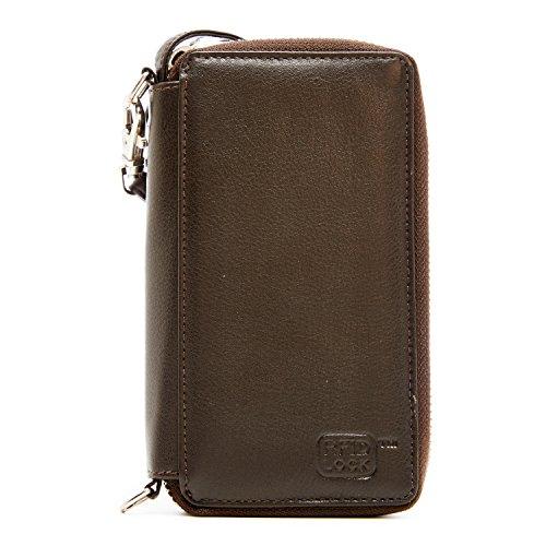 Genuine Leather Wallets Women Wristlet