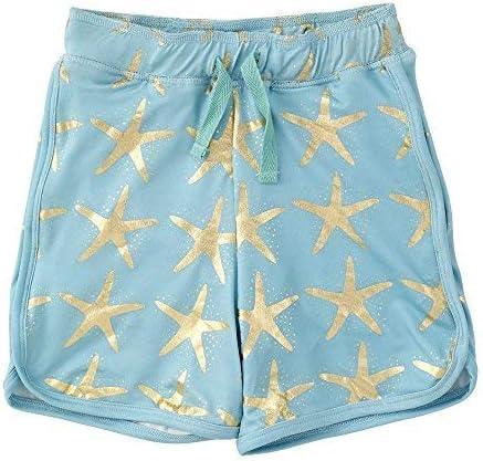 Little Boys Swim Shorts Starfish Turquoise 2Y [並行輸入品]