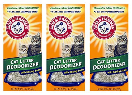 Arm and Hammer Cat Litter Deodorizer Powder (3 Pack)