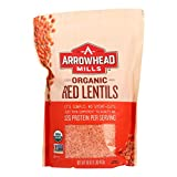 Arrowhead Mills Organic Red Lentils - Case of 6 - 16 oz.
