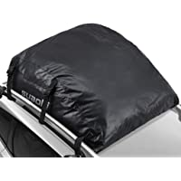 Suaoki 15-Cubic Foot Waterproof Car Top Carrier with or Without Roof Rack