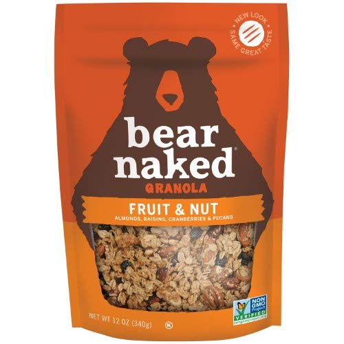 Bear Naked Soft Baked Fruit and Nut Granola (Pack of 6)