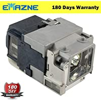 Emazne ELPLP65/V13H010L65 Projector Replacement Compatible Lamp With Housing For Epson EB 1750 Epson Powerlite 1776W Epson EB 1760W Epson Powerlite 1750 Epson EB 1770W Epson EB 1775W Epson EB 1761W