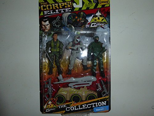 The Corps Elite Curse 3 Pack Collection By Lanard