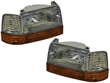 Headlights Signal Coner Lights 6 Piece Set GAS RVLightings Fleetwood Bounder Left /& Right 2000-2002 RV Motorhome