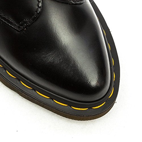 para Martens Agnes Smooth Core Black Scarpa Taglia Nero Mujer Polished Mocasines Dr IxndSPd