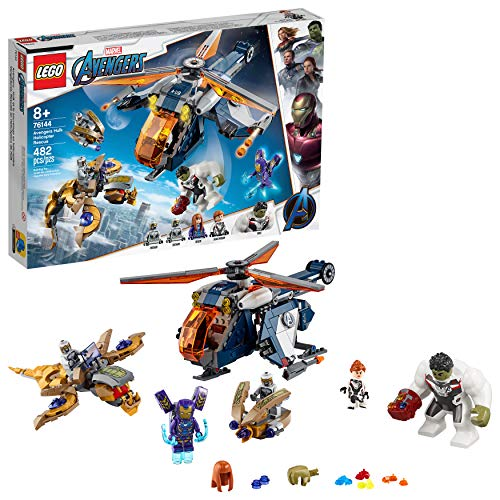 LEGO Marvel Avengers Hulk Helicopter Rescue 76144 Building Kit, New 2019 (482 Pieces)