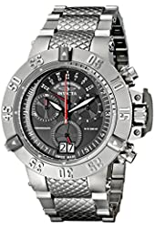 Invicta Men's 17611 Subaqua Analog Display Swiss Quartz Silver Watch