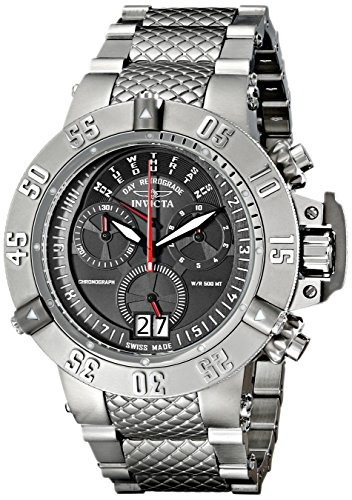 Invicta Men's 17611 Subaqua Subaqua Quartz Multifunction Black Dial Watch