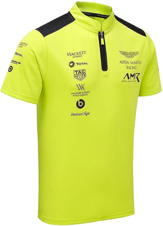 Aston Martin Racing Team Poloshirt Limettengrün Amazon De Bekleidung