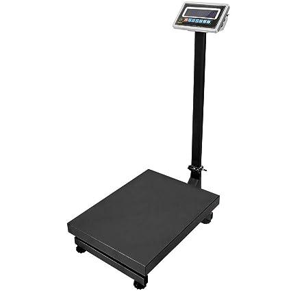 PrimeMatik - Balanza industrial de plataforma 30x40cm báscula 100Kg