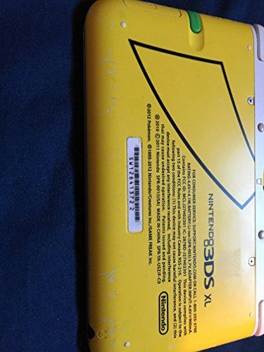Nintendo 3DS XL - Yellow Pikachu