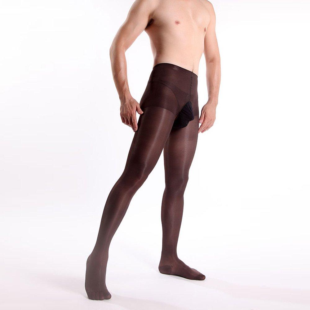 798e24899ab ElsaYX Men s Sheer Crotchless Tights Pantyhose  Amazon.co.uk  Clothing