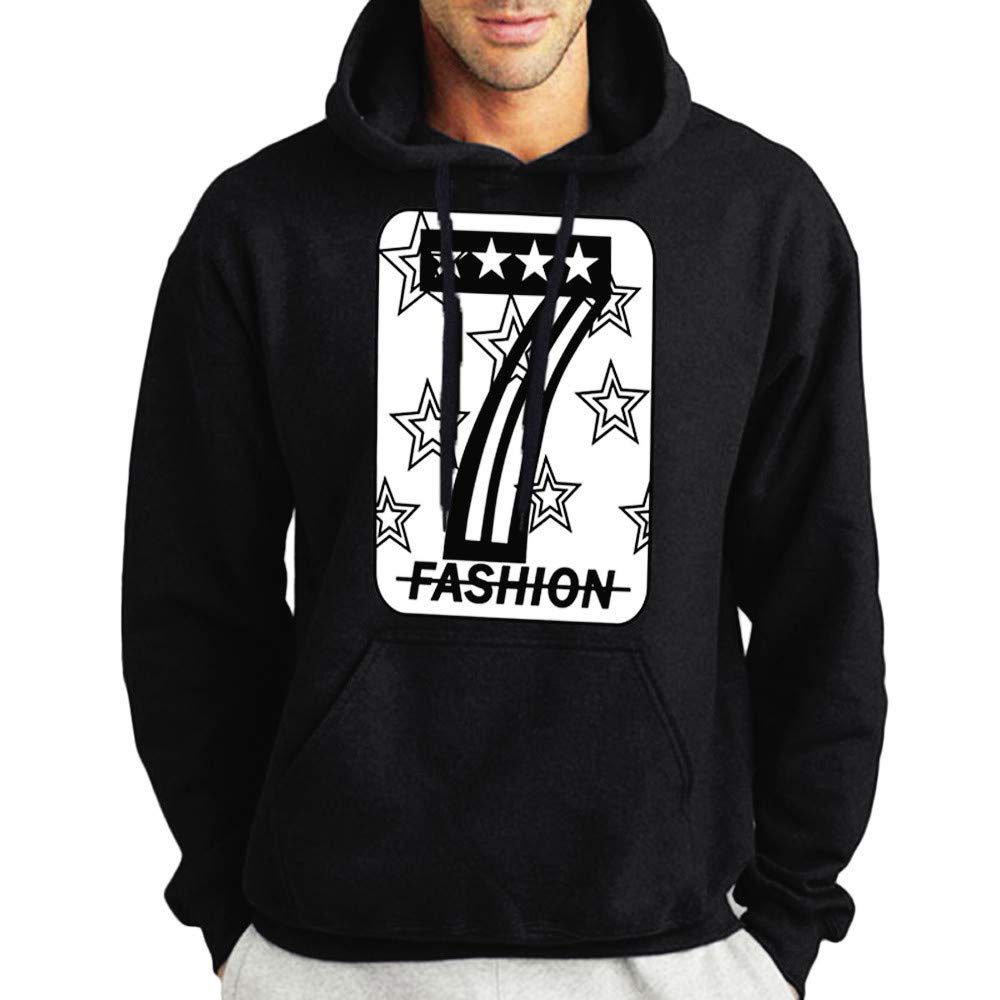 IEason-Men shirt SWEATER メンズ B07GQ8RWSM  ブラック X-Large