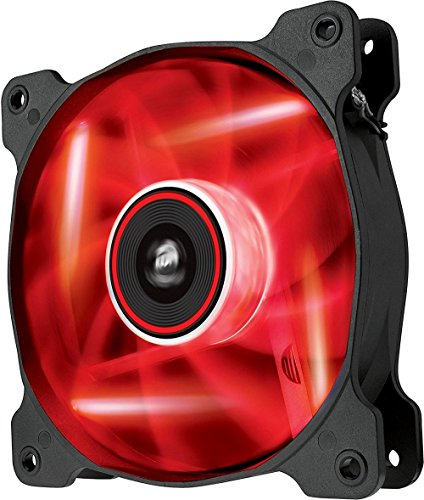 Corsair  Air Series SP 120 LED Red High Static Pressure Fan Cooling - single pack 120 Single