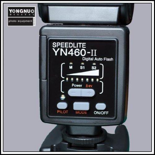 YONGNUO YN460II Flash Speedlite Adjustable Flash Speedlite Hot Shoe Bounce Flash For Canon Nikon Pentax