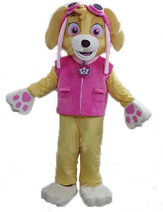 rushopn Patrulla Canina Skye Adulto Mascota Disfraz Traje de ...