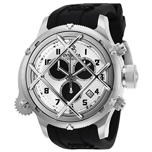 Invicta Russian Diver Chronograph Quartz Silver Dial Men's Watch 27722